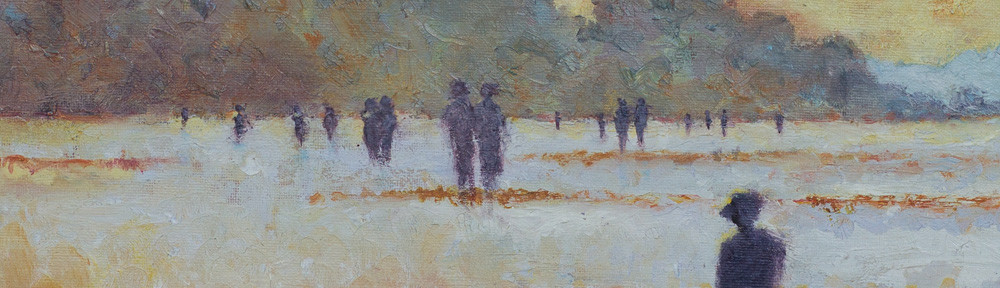 Singing Beach, Oil, 12x16